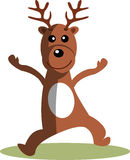 Cartoon Reindeer Stock Image