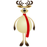 Cartoon Reindeer Royalty Free Stock Photography