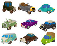 Cartoon retro car icon Stock Photo
