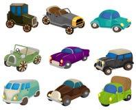 Cartoon retro car icon Stock Photo