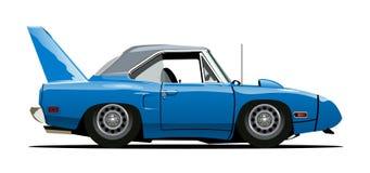 Cartoon retro car Stock Image