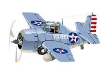 Free Cartoon Retro Fighter Plane Stock Images - 91798444
