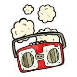 cartoon retro radio Stock Photo