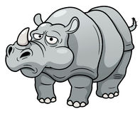 Cartoon rhino Stock Photos
