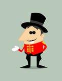 Cartoon ringmaster Stock Photos
