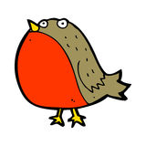Cartoon robin Stock Photography
