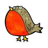 Cartoon robin Royalty Free Stock Photo