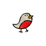 Cartoon robin symbol Stock Photos