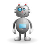 Cartoon Robot. Cute cartoon Robot on a white background. EPS 10 vector illustration