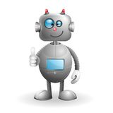 Cartoon Robot Stock Photo