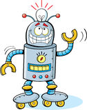 Cartoon Robot Stock Image
