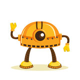 Cartoon robot Royalty Free Stock Image