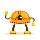 Cartoon robot. Isolated, vector illustration Royalty Free Stock Image
