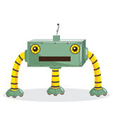 Cartoon robot. Isolated, vector illustration Stock Photography