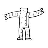 Cartoon robot body (mix and match cartoons or add own photos) Royalty Free Stock Photos