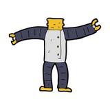 cartoon robot body (mix and match cartoons or add own photos) Stock Images