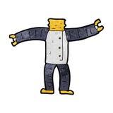 cartoon robot body (mix and match cartoons or add own photos) Stock Image