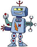 Cartoon robot fantasy character Royalty Free Stock Photos