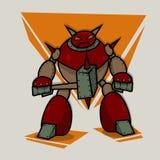 Cartoon Robot Royalty Free Stock Images