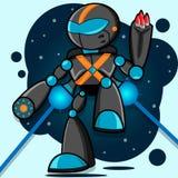 Cartoon Robot Stock Photography