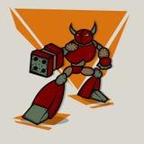 Cartoon Robot Royalty Free Stock Photos