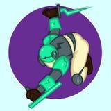 Cartoon Robot Stock Photos