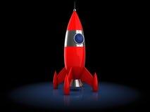 Cartoon rocket Royalty Free Stock Photos