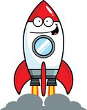 Cartoon Rocket Happy Stock Photos