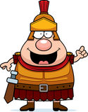 Cartoon Roman Centurion Idea Stock Image