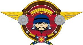 Cartoon Roman Soldier Stock Image