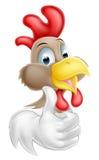 Cartoon Rooster Mascot Royalty Free Stock Photos