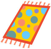 Cartoon rug Royalty Free Stock Photography