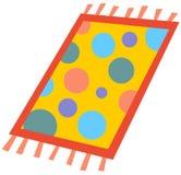 Cartoon rug. Vector Cartoon illustration of a rug Royalty Free Stock Photography