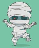 Cartoon running mummy Royalty Free Stock Photo