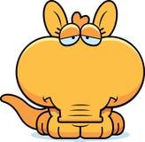 Cartoon Sad Aardvark Stock Photos