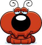 Cartoon Sad Ant Royalty Free Stock Image