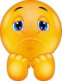 Cartoon Sad smiley emoticon Royalty Free Stock Photo