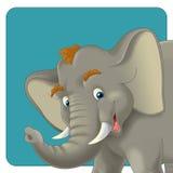 Cartoon safari - illustration for the children Stock Images