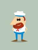 Cartoon sailor Stock Image