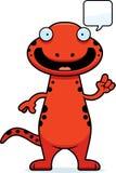 Cartoon Salamander Talking Stock Photos
