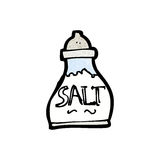 cartoon salt shaker Stock Image