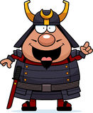 Cartoon Samurai Idea Royalty Free Stock Photography