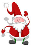 Cartoon Santa - Christmas Vector Illustration Stock Photo