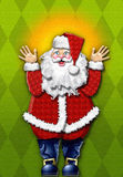 Cartoon Santa Claus Stock Photos