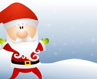 Cartoon Santa Claus Royalty Free Stock Image