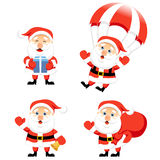 Cartoon Santa Claus. Stock Photos