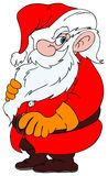 Cartoon Santa Claus Royalty Free Stock Photos