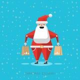 Cartoon Santa Claus Royalty Free Stock Photography