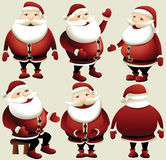 Cartoon Santa Claus Royalty Free Stock Images