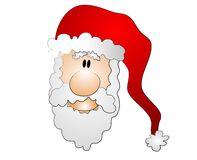 Cartoon Santa Claus Clip Art Stock Image